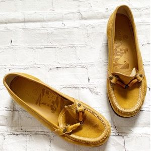 Cole Haan Tan Leather Loafers
